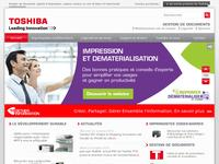 Solution d'impression, GED, copieur Toshiba