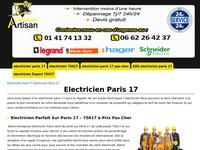 http://paris17.electriciendepannageelectrique.com