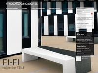 Mobilier urbain & Aménagement urbain : MOBIL CONCEPTS distributeur officiel de METALCO France.