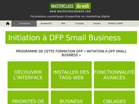 Détails : Masterclass du web : formations marketing digital